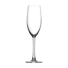 Crystal Champagne Flute Glasses - Set of 6