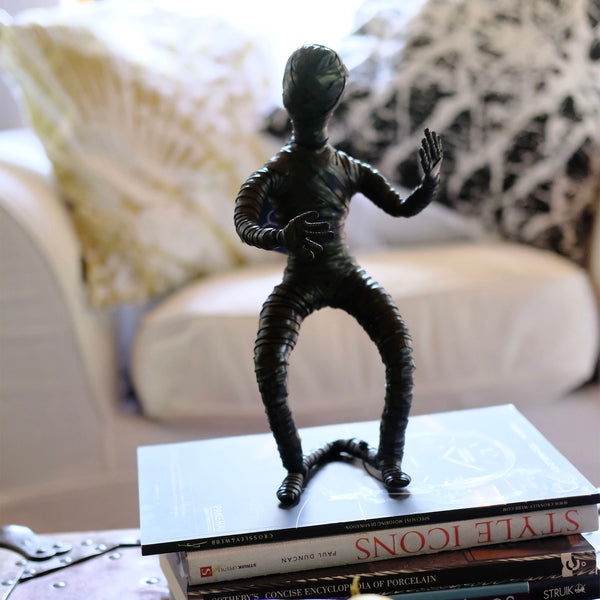 Up-cycled Rubber Sculpture