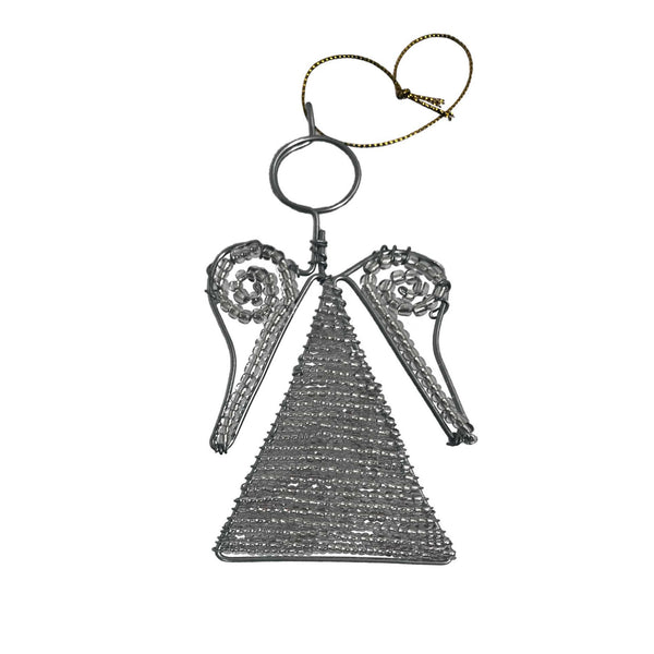 Festive Silver Tree Ornament Set