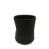 Matt Black Mugs - Set of 6
