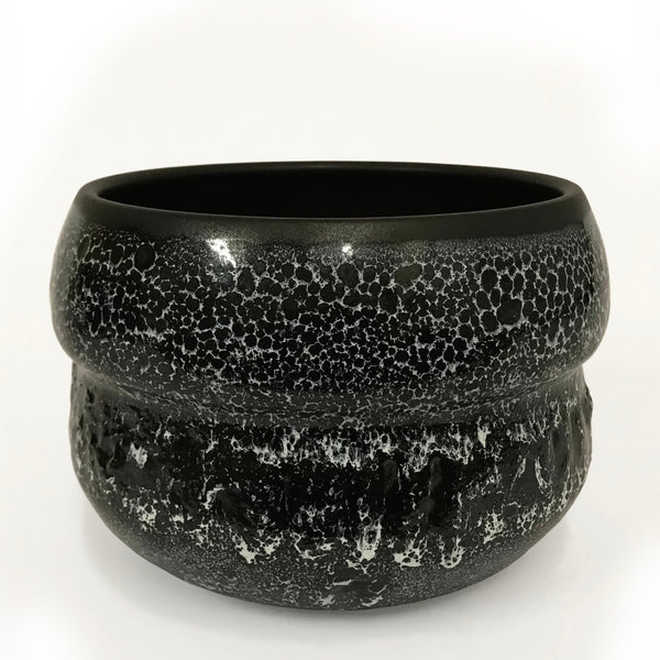Volcanic Rock Double Ball Pot