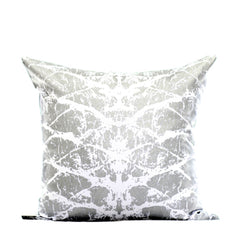 Silver Bark Print Cushion