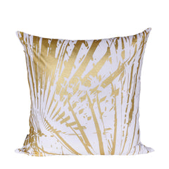 Gold Fan Print Cushion