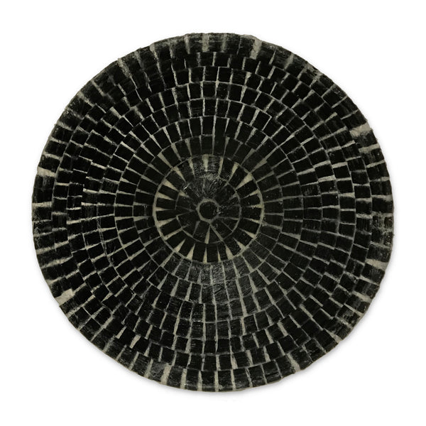 Charcoal Silicone Mosaic Fruit Bowl