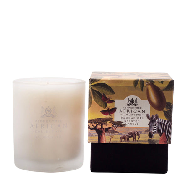 Baobab Scented Candle