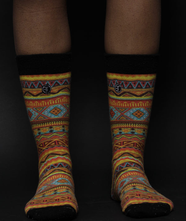 Afriprint Socks