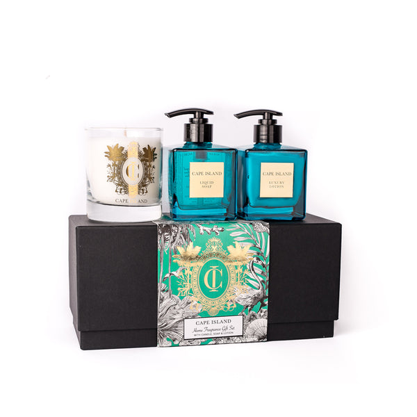 Clifton Beach Soap, Lotion, & Candle Boxed Set