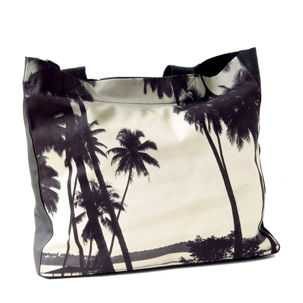 Palm Silhouette Tote Bag