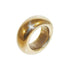 Medium Smooth Organic Bronze Ring