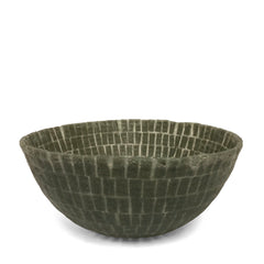Grey Silicone Mosaic Fruit Bowl