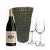 Grey Silicone Vase, Hartenberg Shiraz, & Wine Glasses Set - Limited Edition