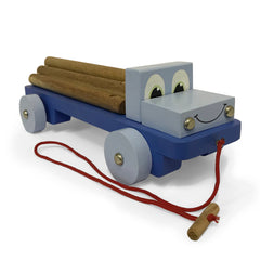 Wooden Toy Logging Truck