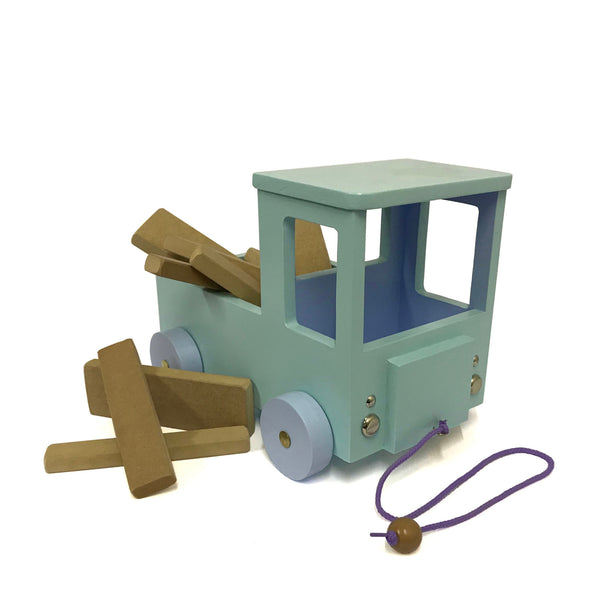 Wooden Toy Lorry