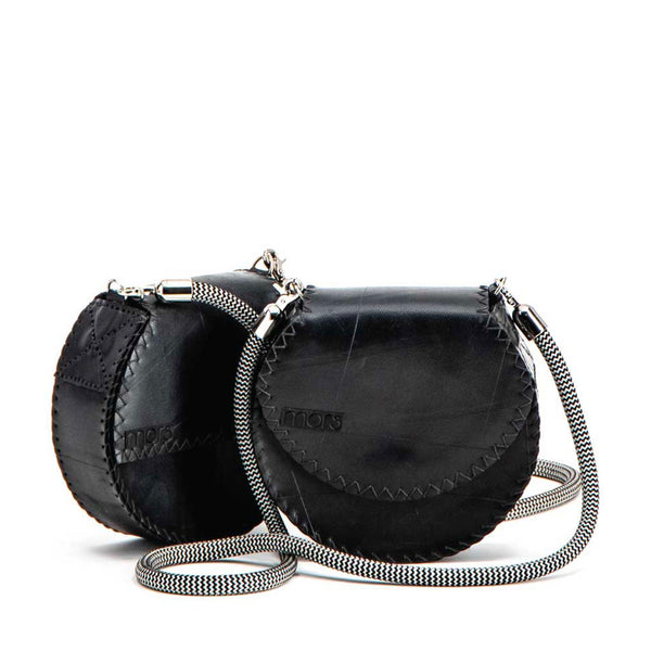 Upcycled Rubber Circle Bag