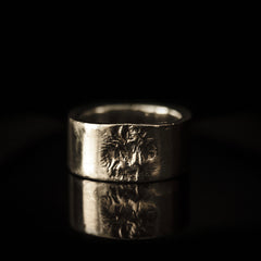 Silver Oxidised Ring