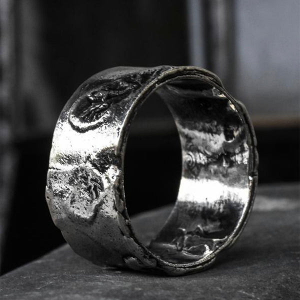Volcanic Silver Ring