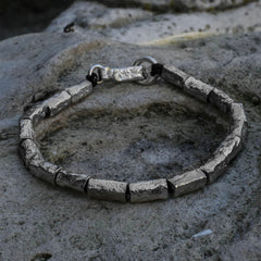 Reticulated Silver Bracelet