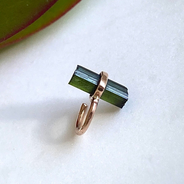 Loop Wrap Earring in Tourmaline