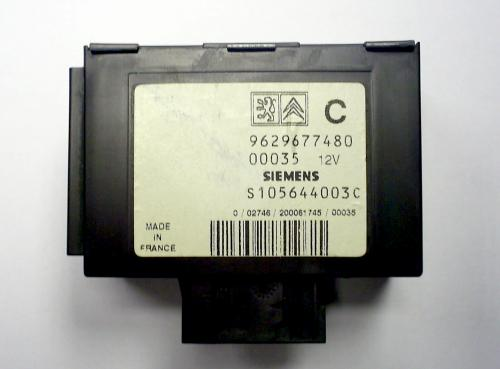 Software module 11 – Peugeot; Fiat; Citroen immobox Siemens