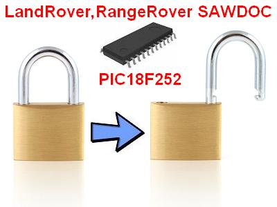 Software module 180 – Unlocking of locked PIC18F252 in SAWDOC