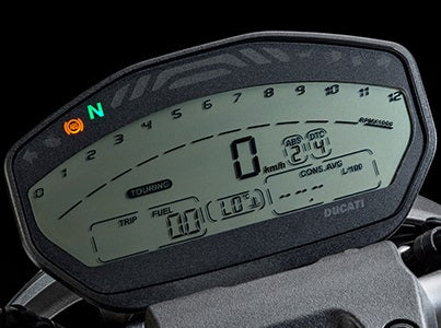 Software module 192 – Ducati 821 bike dashboard MTA