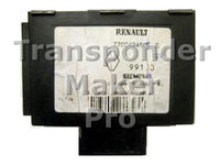 Software module 79 – Renault Megane immobox Siemens
