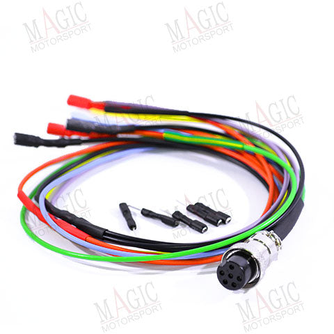 Connection cable: Breakbox free coloured wires cable