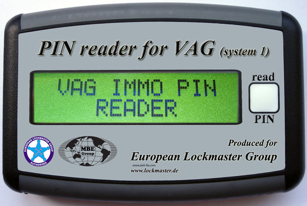 PIN READER FOR VAG