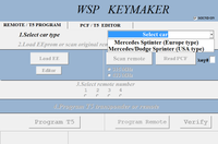 WSP (Sprinter W901-W902-W903-W904-W905)+W638 Vito/Viano update for MB Remote Keymaker