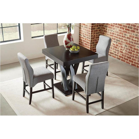 Lampton Collection Counter Height Dining Table Set