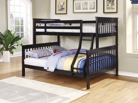 Chapman Black Twin/Full Bunk Bed