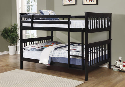 Chapman Black Full/Full Bunk Bed