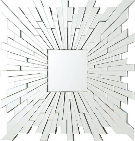 Contemporary Frameless Mirror