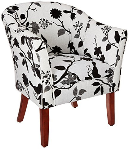 Pattern Accent Chair - Black/White
