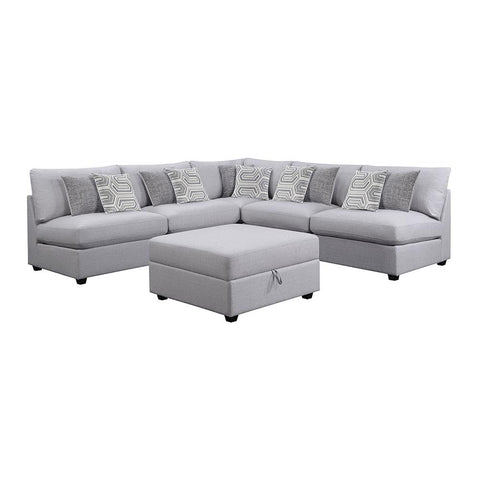 Charlotte Grey Modular Sectional (Choose Your Configuration)