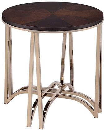 Novus Gold with Walnut End Table