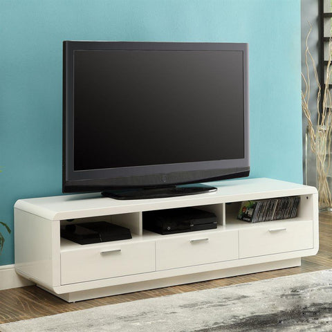 contemporary style White Tv Stand