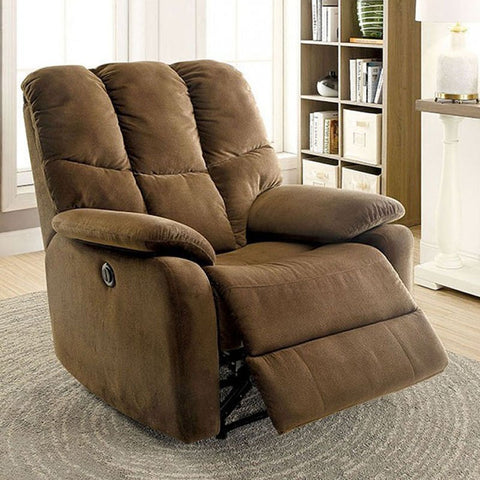 Noreen Power Assist Recliner - Brown