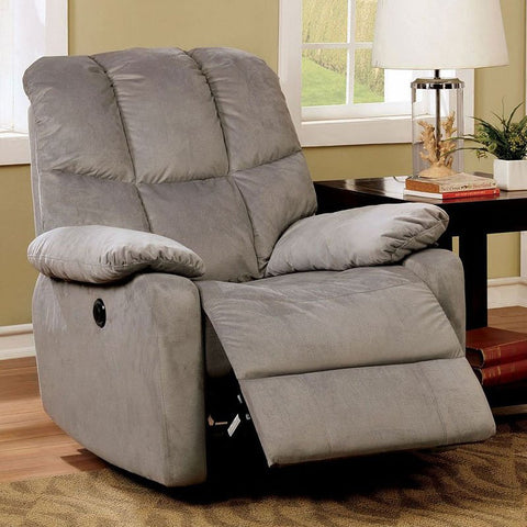 Noreen Power Assist Recliner - Gray