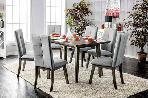 Belaire Mid Century Dining Set, Gray