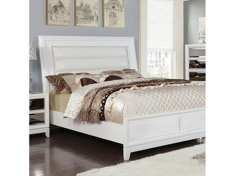 Golva Bed, White