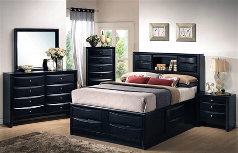 Briana Storage 4 PC Bedroom Set