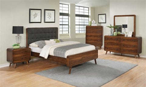 Robyn Mid-century Modern 4 PC Bedroom Set