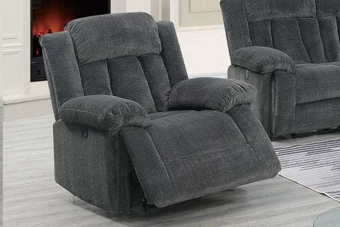 Ventura Grey Power Reclining Chair
