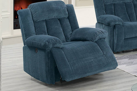 Ventura Power Reclining Chair - Blue