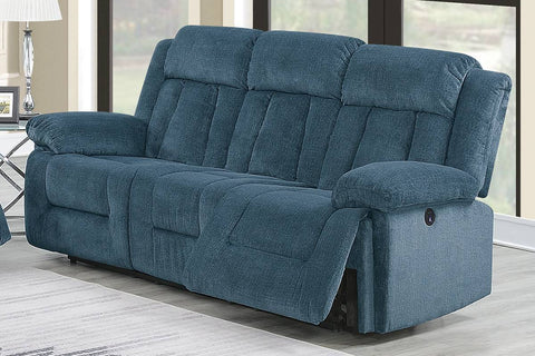 Ventura Power Reclining Sofa - Blue
