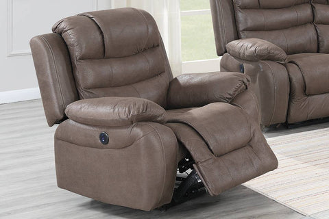 Dark Coffee Power Reclining Chair