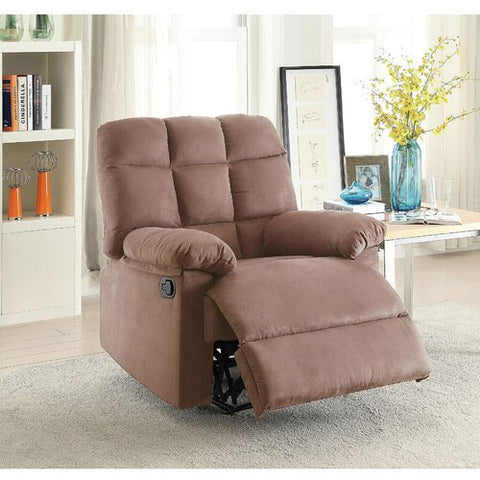 Plush Recliner Chair - Cocoa Peat