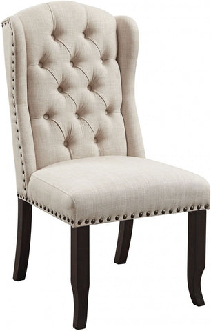 Upholstered Antique Black Chair