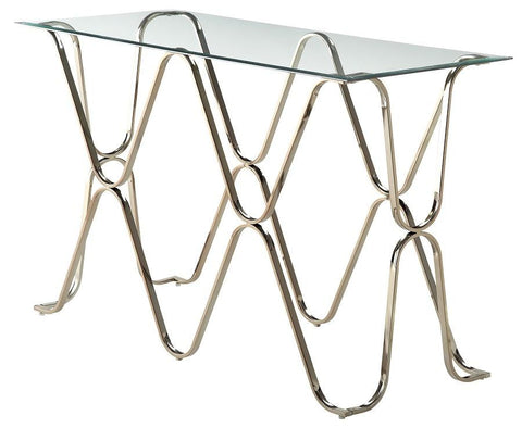 Vador Geometric Console Table